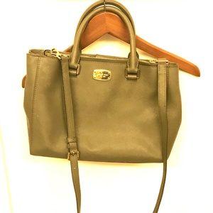 Authentic Michael Kors Olive Green Handbag